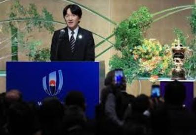 秋篠宮さまラグビー開会式