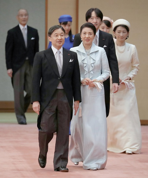 饗宴の儀第3回目天皇皇后
