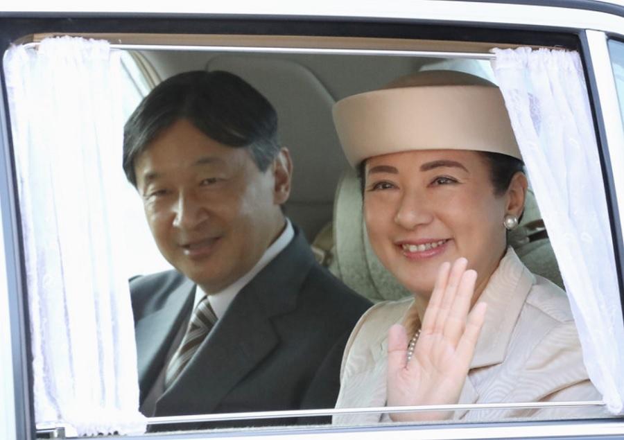 天皇と雅子皇后が大嘗祭のリハーサル
