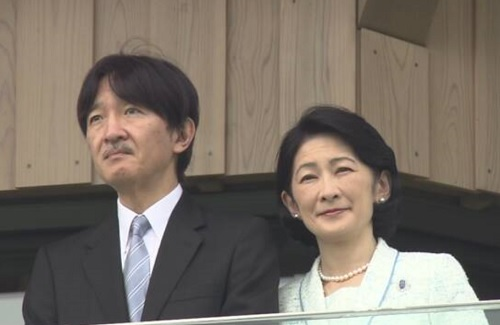 秋篠宮殿下と紀子さま