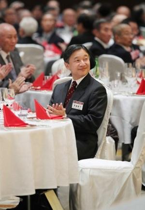 天皇陛下、山岳会の年次晩餐会ご臨席