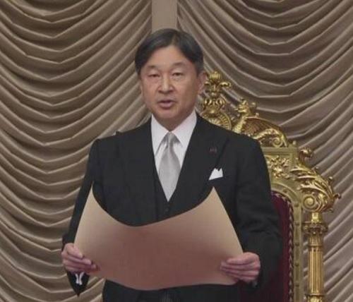 天皇陛下第201通常国会 開会式 でお言葉