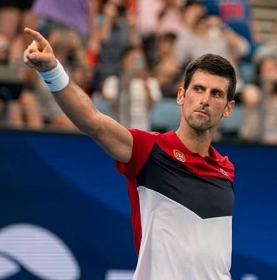 男子テニス国別対抗戦「ATPカップ」ジョコビッチ