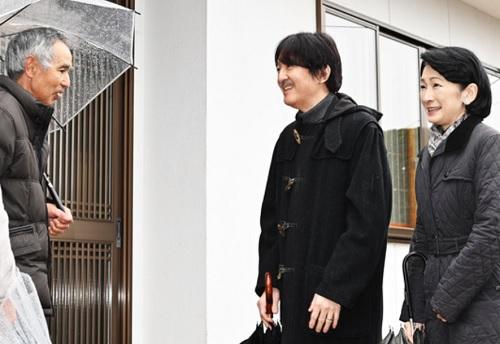 秋篠宮殿下紀子さま福島台風被災地訪問
