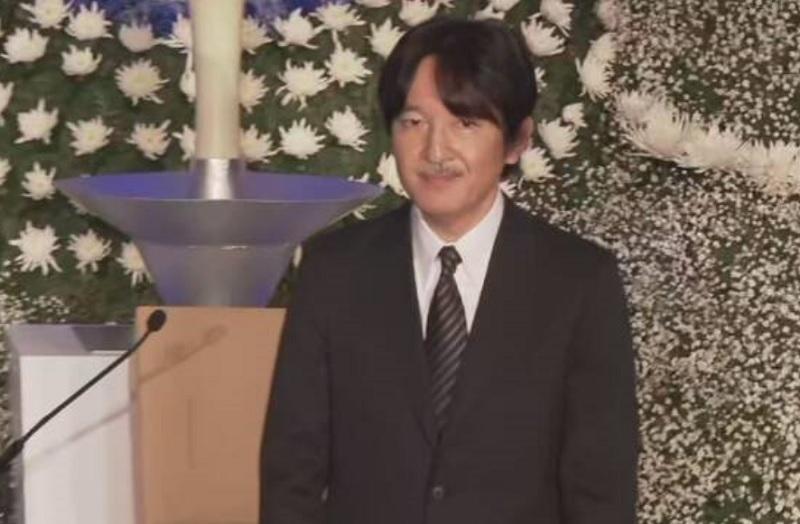 阪神淡路大震災追悼式典秋篠宮殿下