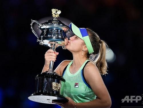 2020年全豪オープンテニス、ソフィア・ケニン優勝