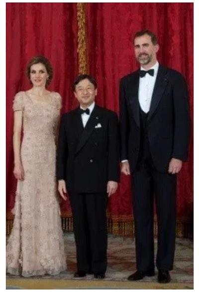 スペインフェリペ6世国王夫妻