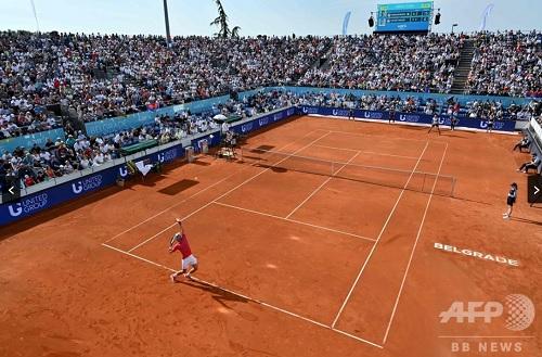 ジョコビッチ主催テニス