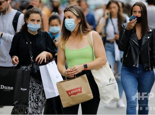 イギリスでマスク着用が義務化