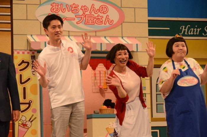 吉村大阪府知事公務で吉本新喜劇出演