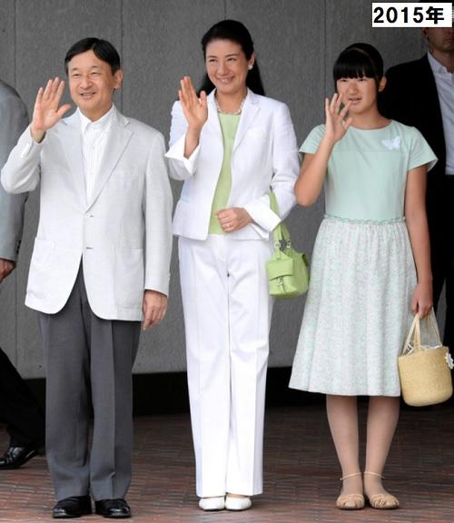 2015年那須御用邸天皇雅子さま愛子さまご静養