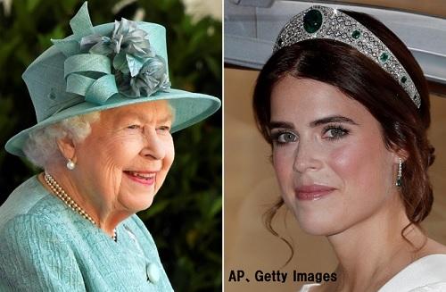 エリザベス女王ユージェニー王女妊娠