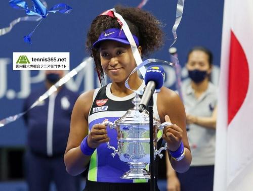 大坂なおみ2度目の全米オープンテニス優勝
