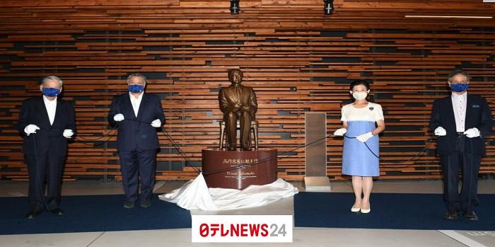 高円宮殿下銅像除幕式