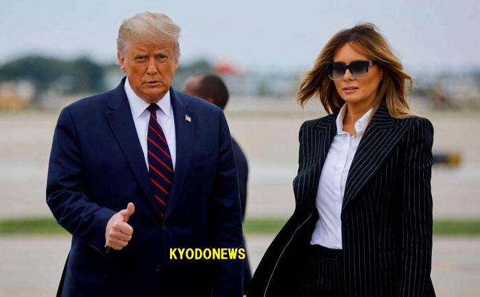 トランプ大統領メラニア夫人、新型コロナ感染