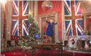 ディープフェイクなエリザベス女王のクリスマスメッセージ