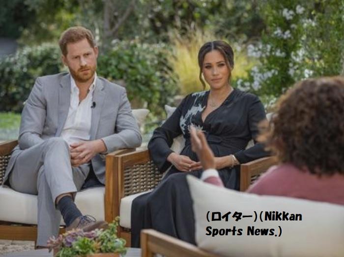 アメリアのテレビに出て英王室の悪口を言うヘンリーとメーガン