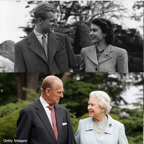 エリザベス女王とフィリップ殿下