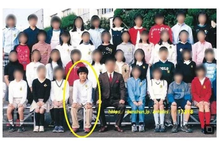 小室圭小学校時代